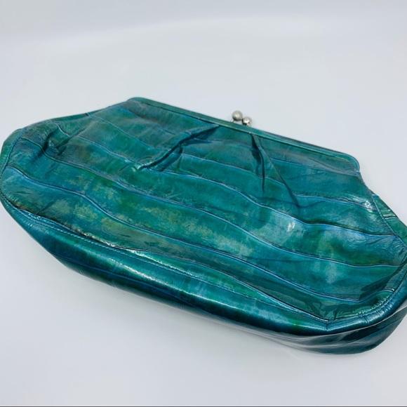 Pinko Palini Handbags - Large Vegan Leather Patent Clutch Purse